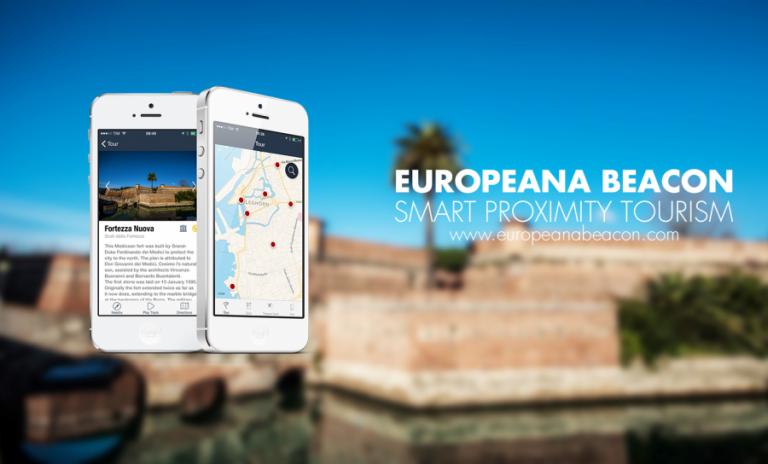europeana beacon app ios smart tourism