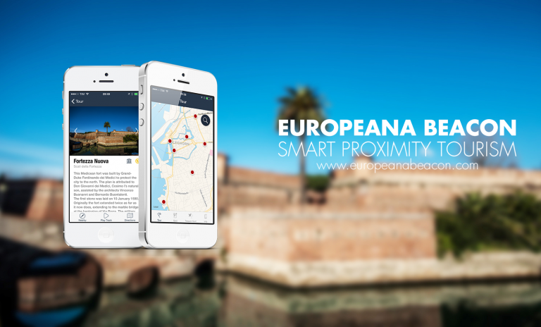 europeana beacon app ios smart tourism